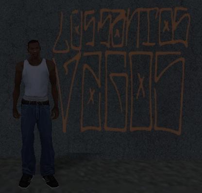граффити в Лос Сантос