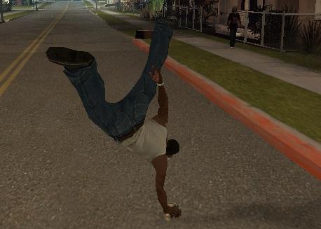 Коды на GTA San Andreas на паркур