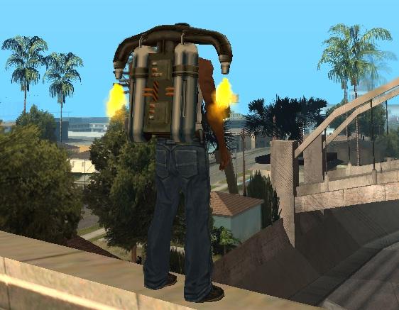 Код на Джетпак в GTA San Andreas