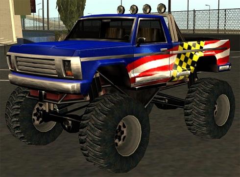 Коды на GTA San Andreas на машины