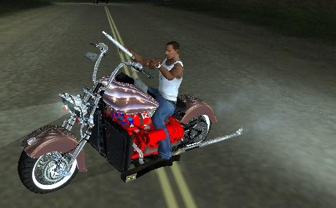Коды на GTA San Andreas на мотоциклы