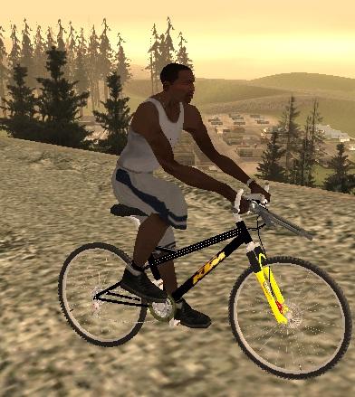 коды на GTA San Andreas на велосипед