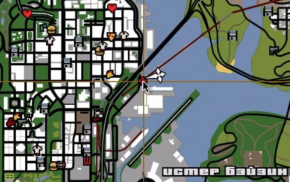 код на GTA San Andreas на миниган