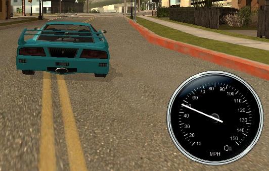 мод на спидометр для GTA San Andreas