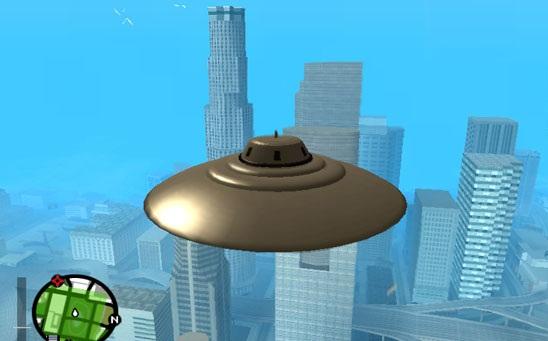 Где в GTA San Andreas найти НЛО?