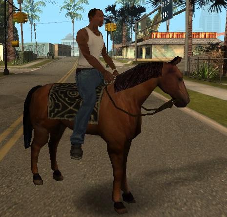 коды на GTA San Andreas на лошадь