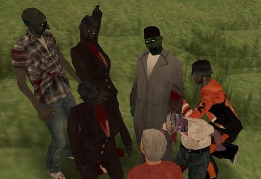 коды на GTA San Andreas на зомби